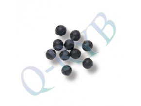 Q-RYB Soft Beads Blk 12mm 10St