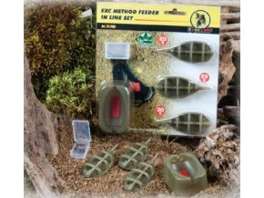 EXTRA CARP METHOD FEEDER SET 3+1