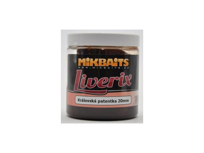 Mikbaits LiveriX boilie v dipu 250 ml - Mazaná škeble