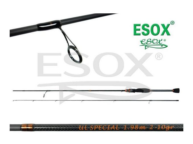 Prut ESOX ULTRA LIGHT SPECIAL 1,98m 2-10g