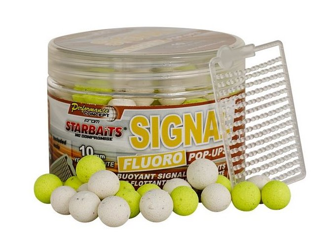 Plovoucí FLUO Boilies Starbaits Signal - 80 g