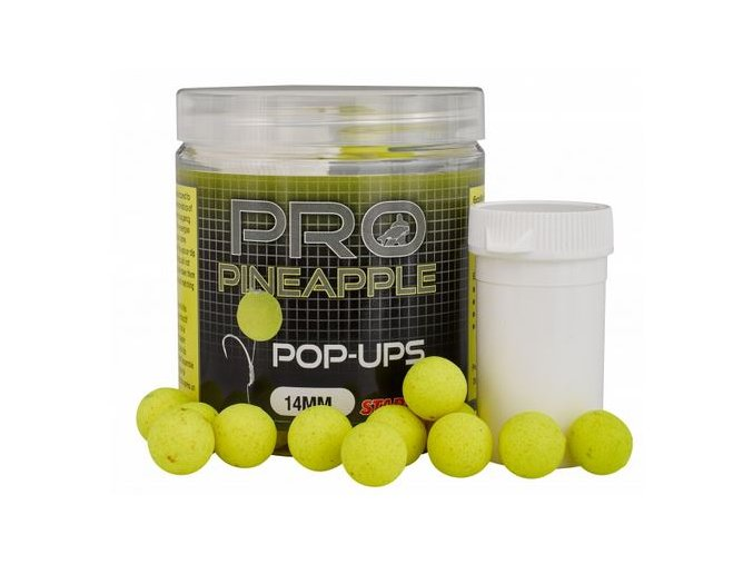 Plovoucí Boilies Starbaits Probiotic Pineapple - 80 g