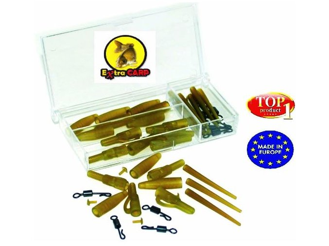 Závěsky Extra Carp Lead Clip With Quick Change Set