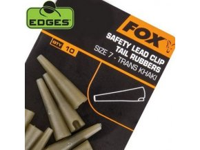 Fox Edges Lead Clip Tail Rubbers převlek přes klip