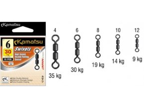 Dvojobratlík Kamatsu High Speed Double Rolling Swivel