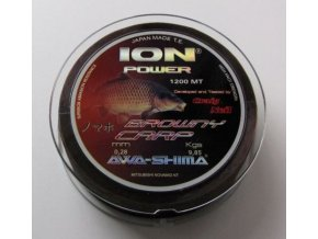 Awa-Shima Ion Power BROWNY CARP 1200 m