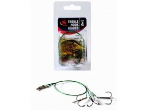 Fil Fishing Lanko s Trojháčkem Treble Hook Leader 3ks