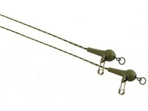 Závěsky Extra Carp Lead Core System with Safety Sleeves