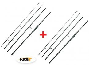 NGT Prut Dynamic Travel Carp 9ft 20-50g 1+1 ZDARMA
