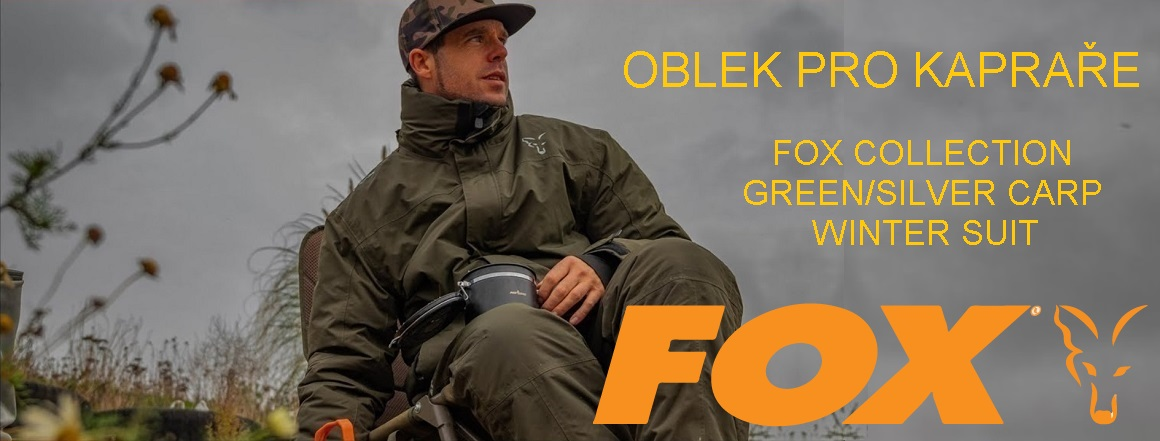 Zimní oblek FOX Collection Green/Silver Carp Winter Suit