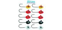 JSA Fish jigové hlavičky mikro - sada 10 ks