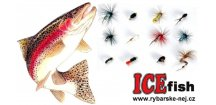 Nymfy na pstruhy ICE Fish - sada GOLD / 12 ks