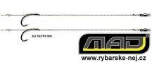 Návazce na kapry MAD All Tactix Rig - balení 2 ks