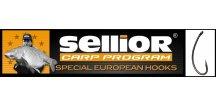 Rybářské háčky SELLIOR C1 Longshank s očkem / 10 ks