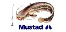 Rybářské návazce na sumce - hotová montáž MUSTAD Catfish Rig 8