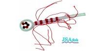 JSA Fish zarážky na splávek bavlnka/korálek