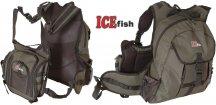 Vláčecí vesta s batohem ICE Fish