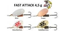 Abu Garcia třpytka Fast Attack 4,5 g