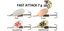 Abu Garcia třpytka Fast Attack 7 g