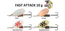 Abu Garcia třpytka Fast Attack 10 g