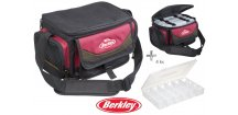 Berkley taška System Bag 2015 Red/Black M