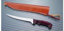 Albastar filetovací nůž s dřevěnou rukojetí čepel 16 cm