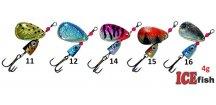 ICE Fish rotační třpytka Viper - 4 g