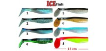 ICE Fish vláčecí nástraha ryba SD 2B - 13 cm