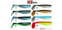 ICE Fish vláčecí nástraha ryba SD 2B - 16 cm