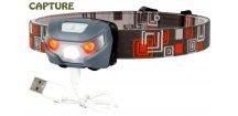 JAF Capture čelovka Cobra 3W-2R USB Charger