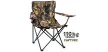 JAF Capture rybářská sedačka Camo ZZS Camp Chair