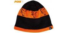 Čepice FOX Black/Orange Beanie