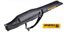 Obal na pruty Sportex Rod bag Super Safe II dvoukomorový