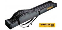 Pouzdro na pruty Sportex Rod bag Super Safe IV čtyřkomorové
