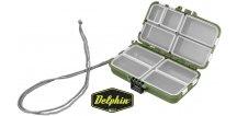 Krabička Delphin TBX Duo 114-9P - 114 x 62 x 34 mm