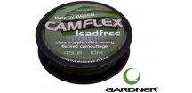 Gardner bezolovnatá šňůrka Camflex Leadfree Weedy Green 10 m