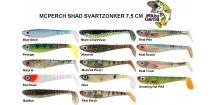 Abu Garcia gumové nástrahy Svartzonker McPerch Shad Real Series 7,5 cm