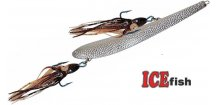Pilkr ICE Fish Shadow Silver