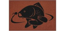 Delphin rohožka Kapr - 60 x 40 cm