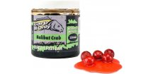 Boilies v dipu Carp Only Halibut & Crab 250 ml