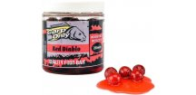 Boilies v dipu Carp Only Red Diablo 250 ml