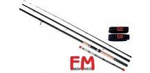 Prut Feeder Match Carper Feeder 345 cm/50-100 g + neoprenové pásky