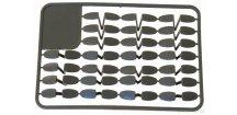 Carp System zarážky na palety velké 50 ks