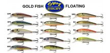Wobler Goldy Gold Fish Floating 5,5 cm