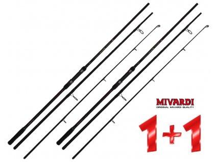 Prut Mivardi Alcon Carp 3,6 m/3,00 lb - AKCE 1+1