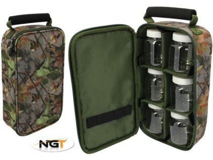 NGT pouzdro na dipy Glug Bag Camo