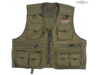 Vesta rybářská Mikado Fishing Vest