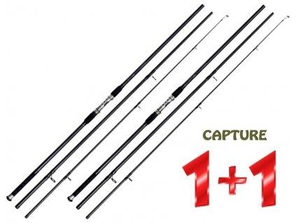 JAF Capture kaprový prut Carp Prestige 12 ft/3,5 lb 3díly - AKCE 1+1