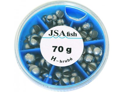 JSA Fish broky hrubé 70 g