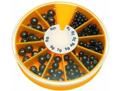 Olověné kuličky průběžné sada JSA Fish 1 12 g